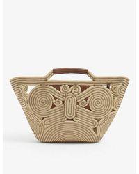 Anya Hindmarch Rope Basket Tote Bag - Natural
