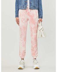 Cotton Citizen Milan Tie-dye Cotton-jersey jogging Bottoms - Pink