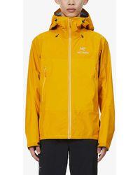Arc'teryx Beta Sl Hooded Shell Jacket - Yellow
