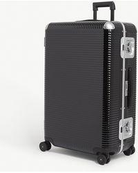 Fpm Fabbrica Pelletterie Milano Bank Light Spinner 76 Suitcase - Black