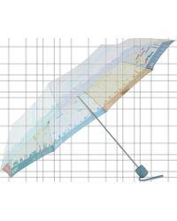 Fulton - Brollymap Umbrella - Lyst
