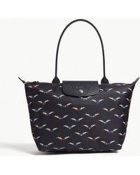 Longchamp - Le Pliage Chevaux Ailes Small Shoulder Bag - Lyst