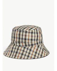 Maje Check Bucket Hat - Multicolor