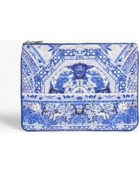 Camilla - Printed Pouch Bag - Lyst