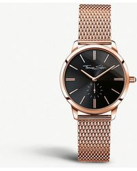 Thomas Sabo - Glam & Soul Rose Gold-toned Stainless Steel Watch - Lyst