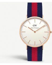 Daniel Wellington 0101dw Classic Oxford Watch - Metallic