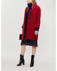 Max Mara - Livrea Wool And Alpaca-blend Coat - Lyst