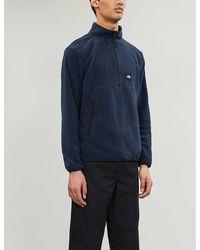 The North Face Boruda Fleece Sweatshirt - Blue