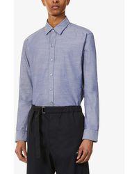 BOSS by Hugo Boss Regular-fit Stretch-cotton Shirt - Blue