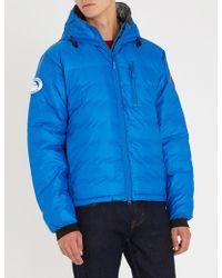 Canada Goose - Lodge Hooded Shell-down Jacket - Lyst
