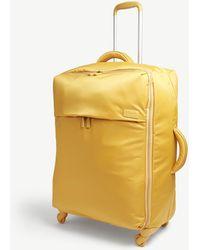 Lipault Originale Plume Four-wheel Suitcase 72cm - Yellow