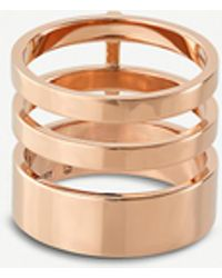 Repossi - Berbere Module 18kt Rose-gold Ring - Lyst