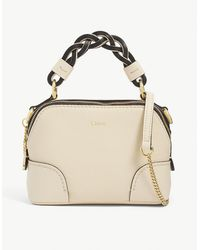 Chloé Ladies Sweet Beige Leather Daria Mini Cross-body Bag - Natural