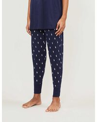 Polo Ralph Lauren Pony Print Pajama Pants - Blue