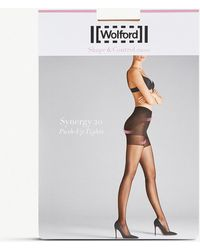 Wolford - Synergy 20 Push-up Tights - Lyst
