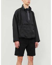 Acne Studios Wide Cotton-blend Shorts - Black