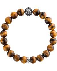 Thomas Sabo - Rebel At Heart Sterling Silver Bracelet - Lyst