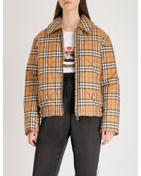 Burberry - Knowstone Quilted Shell Jacket - Lyst