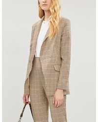Never Fully Dressed Dynasty Woven Blazer - Natural