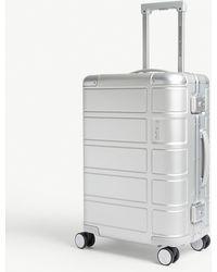 American Tourister Alumo Four-wheel Cabin Suitcase 55cm - Metallic