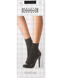 Wolford Velvet Socks