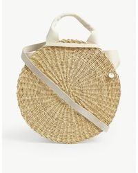 Muuñ Rosa Round Straw Bag - Multicolour