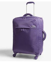 Lipault Originale Plume Four-wheel Cabin Suitcase 65cm - Purple