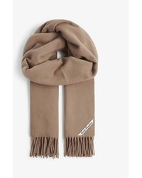 Acne Studios Canada New Wool Scarf - Brown
