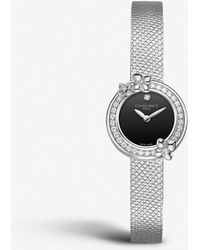 Chaumet W20611-20b Hortensia Eden Stainless Steel And Diamond Watch - Multicolour