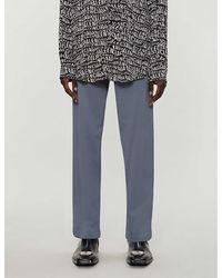 Balenciaga Logo-print Oversized Cotton-jersey Tracksuit Bottoms - Grey