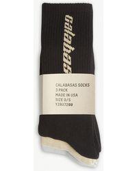 Yeezy Calabasas Crew Socks 3-pack - Multicolor