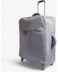 Lipault Originale Plume Four-wheel Cabin Suitcase 72cm - Grey