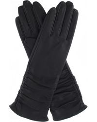 Dents | Ruched Leather Gloves | Lyst
