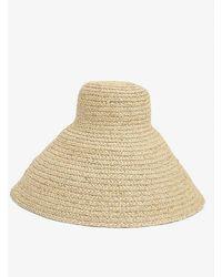 Jacquemus Le Chapeau Valensole Braided Hat - Natural