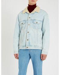 Gucci - Paramount Patch Denim Jacket - Lyst