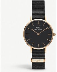 Daniel Wellington - Classic Petite Cornwall Rose Gold-plated Watch - Lyst