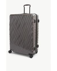 Tumi International Expandable 19 Degree Large Polycarbonate Suitcase - Grey