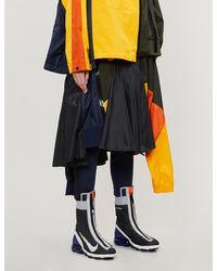 Nike Colour-block High-waist Shell Midi Skirt - Multicolour