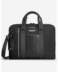 Tumi Aviano Slim Brief Bag - Black