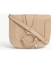 See By Chloé - Hana Medium Leather Saddle Bag - Lyst