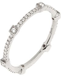 Annoushka - Pavilion Diamond 18ct White-gold Eternity Ring - Lyst