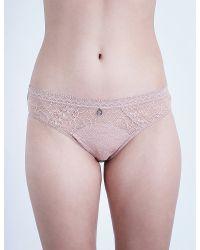 Implicite - Intense Stretch-lace Bikini Briefs - Lyst