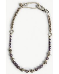 Eleventy - Faux-pearl Embellished Chain Necklace - Lyst