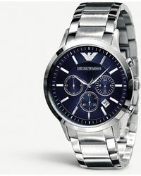 Emporio Armani Ar2448 Classic Chronograph Watch - Black