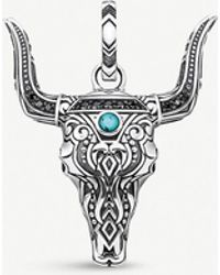 Thomas Sabo Rebel At Heart Bull's Head Sterling Silver - Metallic