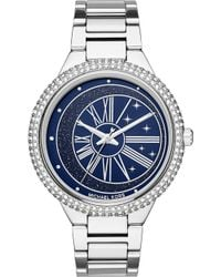 Michael Kors - Mk6549 Taryn Stainless Steel Gem-embellished Watch - Lyst