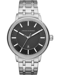 Armani Exchange - Maddox Stainless Steel Bracelet Watch 46mm - Lyst