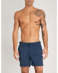 Orlebar Brown Bulldog Regular-fit Swim Shorts - Blue