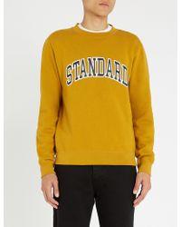 Sandro - Standard Cotton-jersey Sweatshirt - Lyst