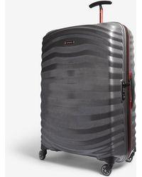Samsonite Lite-shock Sport Hardshell Spinner Suitcase 75cm - Grey